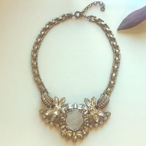 J. Crew chunky crystal necklace